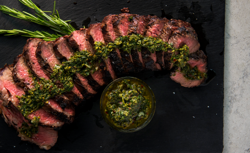 Recipe Blog - Feature - HD Recipes - Charcoal Smoked Red Wine Tri Tip