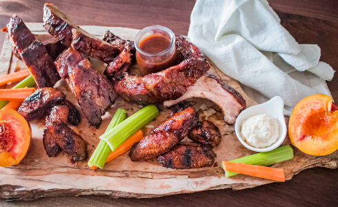 Recipe Blog - Feature - Ribs N Wings