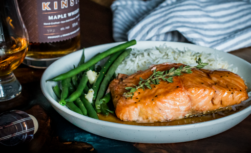Recipe Blog - Feature - Maple Whisky Salmon