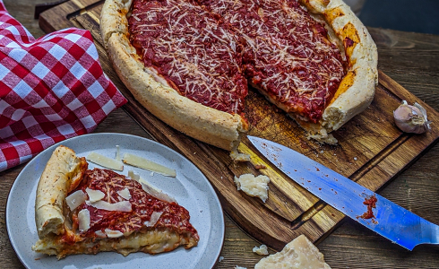 Recipe Blog - Feature - Authentic Chicago Deep Dish