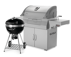 Napoleon Charcoal Barbecue Grill