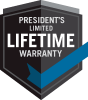 President's Limited Lifetime Warranty